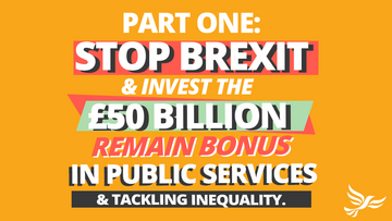 Stop Brexit and Invest
