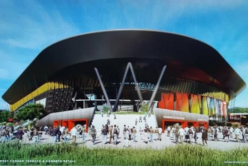 Watford Football Club's design for a new stadium (Watford Football Club)