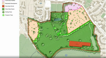 Masterplan for Bushey Country Club